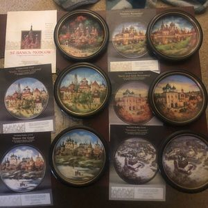 Jewels of the Golden Ring collectible plates